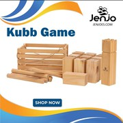 Kubb Game | Fun Game for all Ages | Jenjo Games Australia