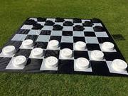 Giant Checkers | Perfect for Outdoor Parties | Jenjo Games - Australia