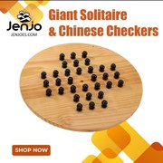 Giant Solitaire & Chinese Checkers | Jenjo Games - Australia
