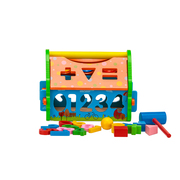 Toy Playhouse | Educational Toy for Toddlers | Jenjo Games - Australia